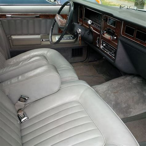 Brougham Interiors Vancouver by 1978 Mercury Grand Marquis For Sale Vancouver