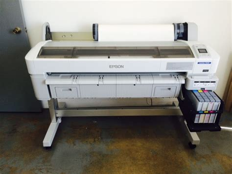 Printer Epson F6070 large format epson f6070 44 sublimation printer