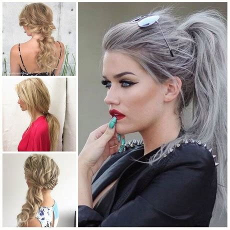 40 ponytail hairstyles for 2017 best ideas for ponytails frauen haarschnitte 2017