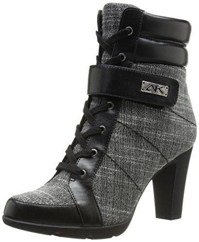 ak sport shoes ak klein sport women s xpert fabric boot black tweed
