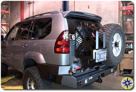 lexus gx470 rear bumper installing lexus gx470 swing out bumper overland