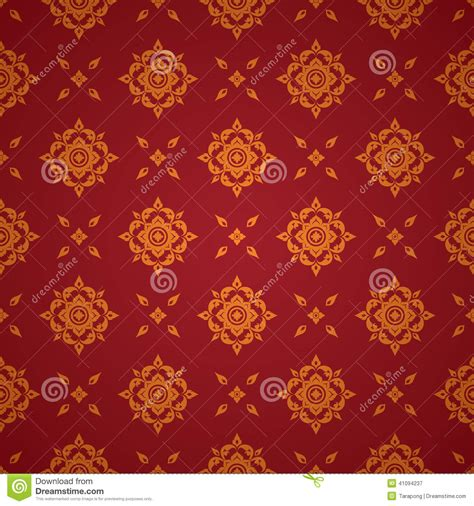 thai pattern background free asian art background thai art pattern vector stock