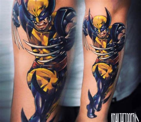 3d tattoo wolverine wolverin tattoo by khail tattooer tattoo pinterest