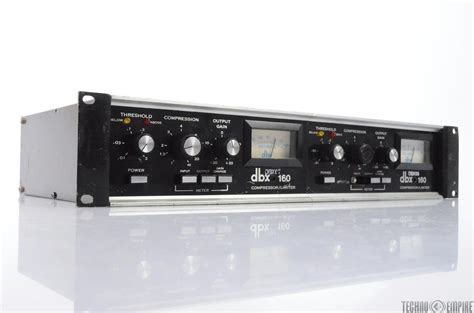 Dbx 166xl 2 Channel Compressor Limiter With Noise Gate dbx 160 vu 2 channel compressor limiter the record plant 28463