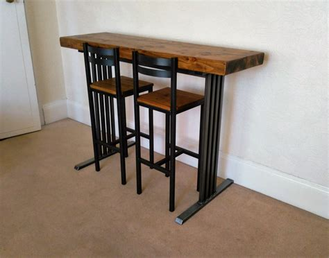 Narrow Breakfast Bar Stools Breakfast Bar 2 Bar Stools Deco Style By