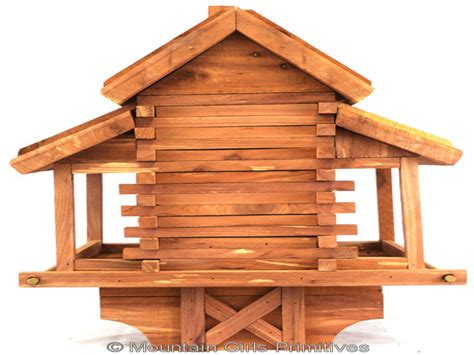 cedar log cabin bird feeder cedar cabins to build cedar