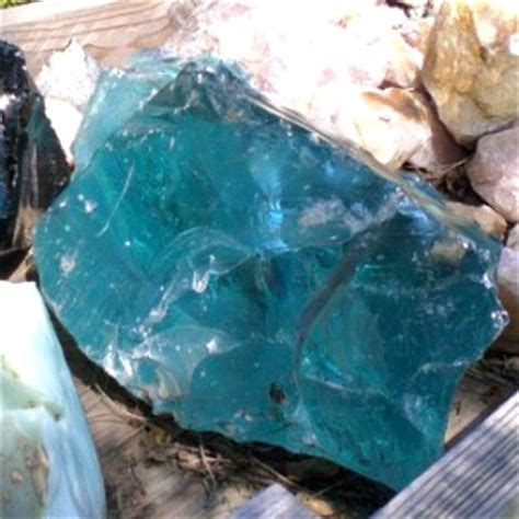 Blue Obsidian Top Cristal blue obsidian