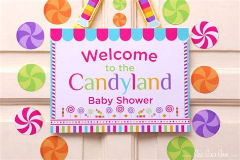 candyland themed baby shower candyland baby shower theme shop them here