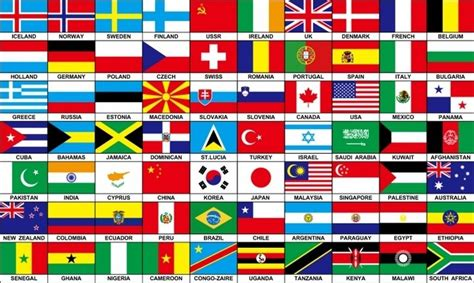 country flags 70 nations countries flag 5x3 africa europe america