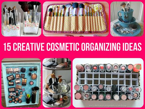 organize ideas diy ideas for organizing makeup makeup vidalondon