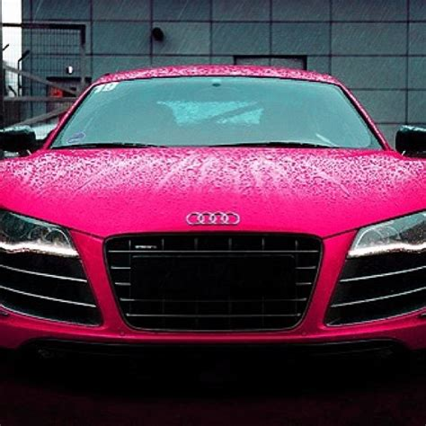 pink audi pink audi r8 lush some girls like diamonds get me