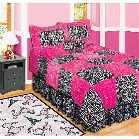 pink zebra print bedding pink zebra quilt safari bedding