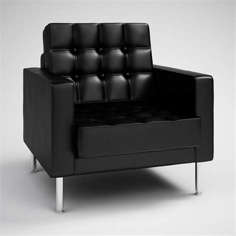 Black Armchairs by Free Black Modern Armchair C4d