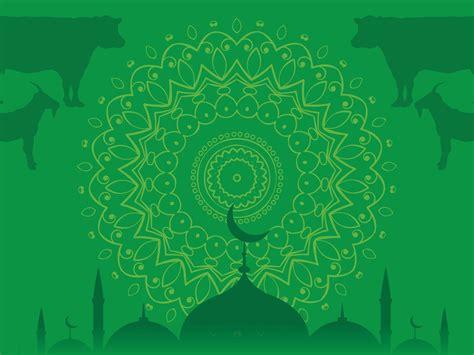 gambar background hijau islami masvian
