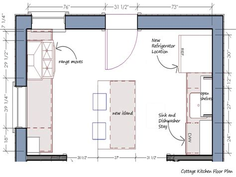Small Kitchen Floor Plan Kitchen Floor Plans And Layouts Kitchen Floor Plans