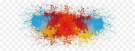 color vector splash  paint  transprent png