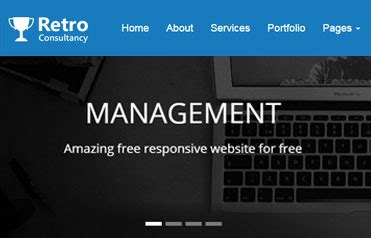bootstrap templates for consulting 4team free consulting responsive bootstrap template