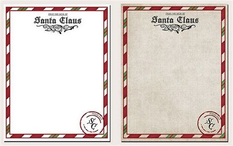 letter from santa claus template free santa claus list letter printable new calendar