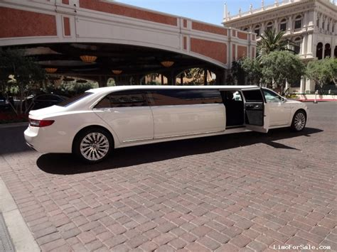 new limousine new 2017 lincoln continental sedan stretch limo specialty