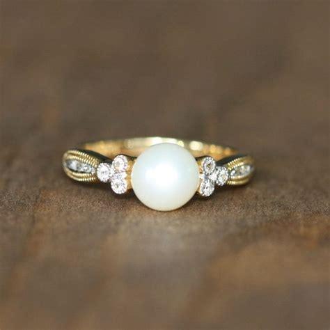 Pearl Ring by Best 20 Vintage Pearl Rings Ideas On Pearl