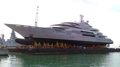 biggest boat party in the world fincantieri launches 140m superyacht victory boat