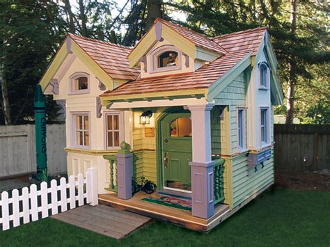 build a home for free cottage playhouse plans pdf woodworking