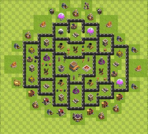 layout coc rh8 cw und trophydorf design f 252 r rathaus 8 rh level 8