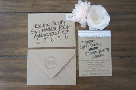 Wedding Invitations You Can Make Yourself by Beautiful Wedding Invitations You Can Make Yourself