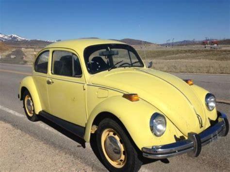park city volkswagen sell used vintage 1973 vw beetle clean solid in