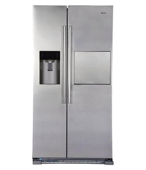 haier door refrigerator price haier 628 ltr hrf 628af6 door refrigerator silver