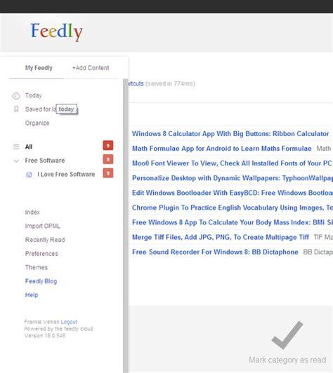 design google reader change feedly to google reader design with ggreader chrome