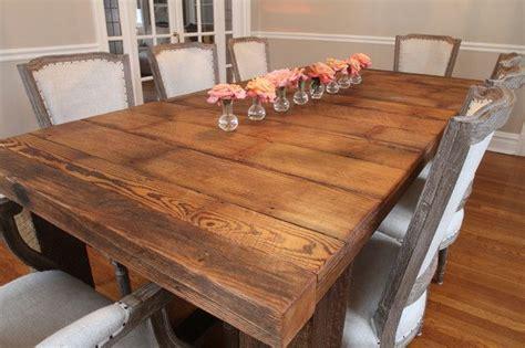 Barn Wood Dining Room Table Best 25 Barnwood Dining Table Ideas On