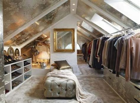 attic turned into bedroom slanted tiptoe butterfly