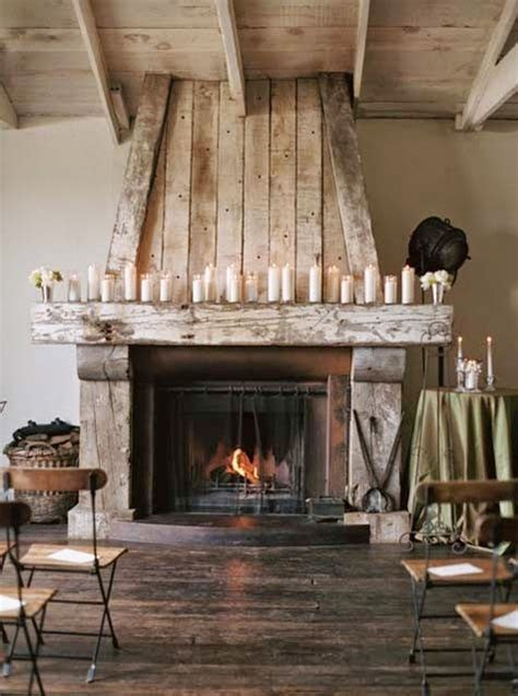 rustic fireplace willow decor my return barn wood fireplace surrounds