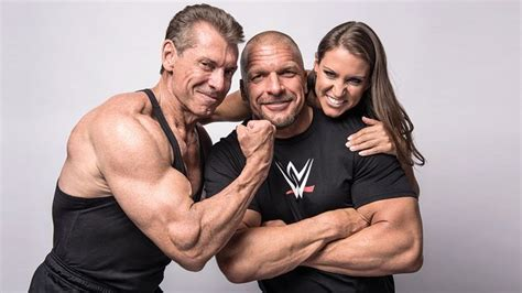 stephanie mcmahon asks triple h to sign the annulment vince mcmahon stephanie mcmahon and paul levesque