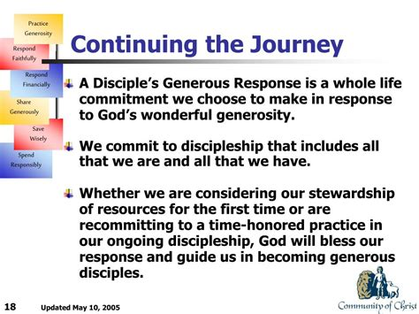 ppt a disciple s generous response powerpoint
