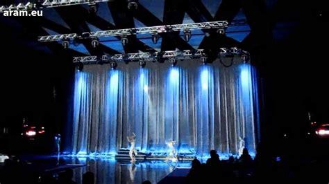 kabuki curtain drop curtain system rental aram eu youtube