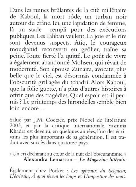 YASMINA KHADRA - Les Hirondelles de Kaboul - Romans