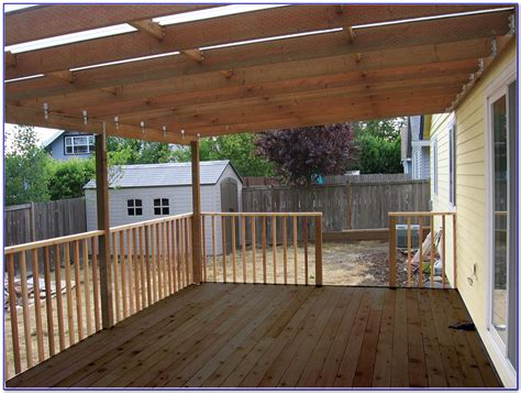 covered deck ideas easy diy patio furniture