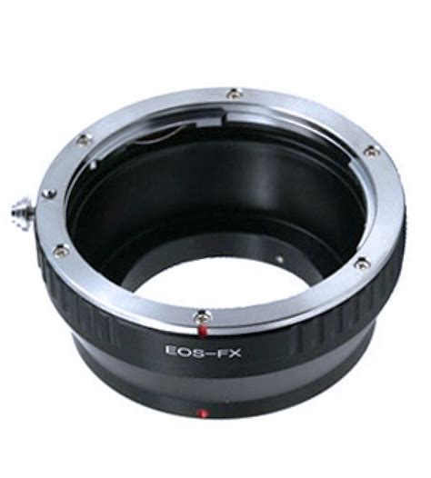 converter canon to fuji lens adapter ring canon eos fuji fx body