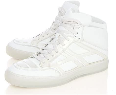 alejandro ingelmo high top tennis shoes in white for
