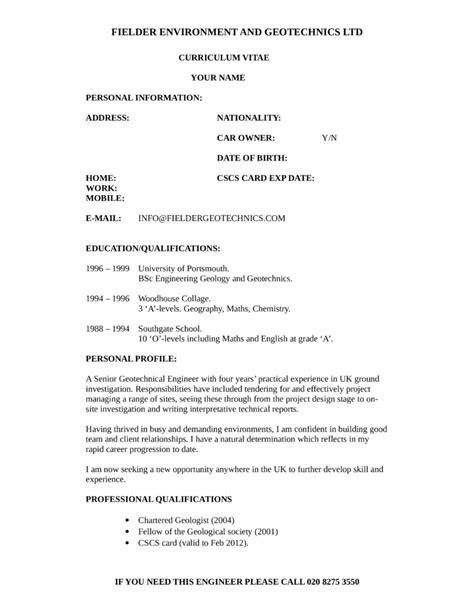 Geotechnical Engineer Sle Resume by 100 Geology Resume Wellsite Geologist Resume Resume Ideas Clean Geotechnical Engineer Resume