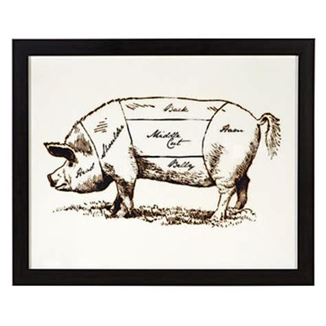 pig butcher diagram image gallery hog butchering chart