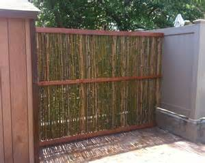 bamboo garden screen gardening hardscapes furniture