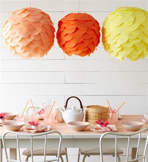 Tissue Paper Lantern Craft - white space is space diy paper lanterns by the