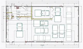 garage layout plans car garage workshop layout motordb home building plans