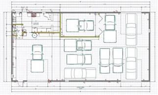 workshop blueprints car garage workshop layout motordb home building plans