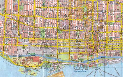 toronto canada map maps of toronto ontario canada free printable maps