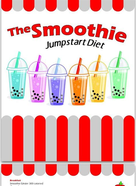 printable smoothie recipes for weight loss weight loss smoothie the smoothie jumpstart diet weight