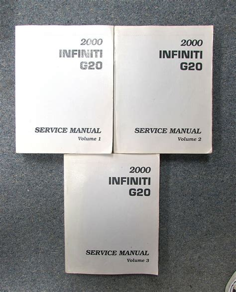 service manual free 2000 infiniti i online manual free auto repair manual for a 2000 2000 infiniti g20 service repair manual set ebay